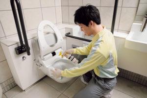 トイレ・洗面所清掃